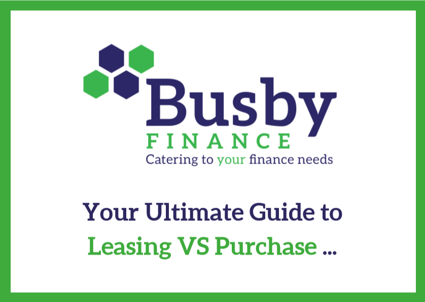 Logo and Cover for Leasing vs Purchasing Guide